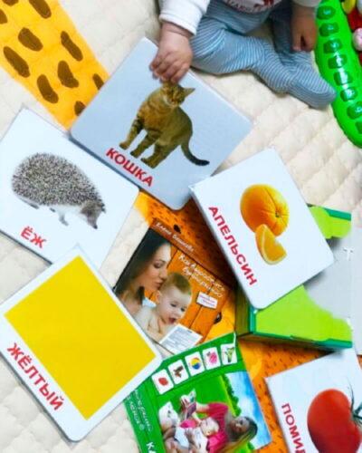 Подарочный набор 100 ламинированных карточек Домана