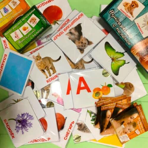 460 ламинированных карточек Домана Мегачемодан Вундеркинд с пелёнок на рус. photo review