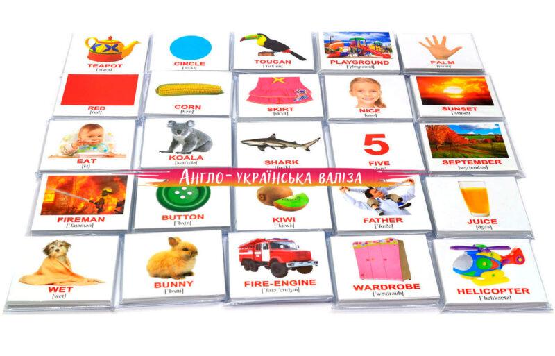 английские карточки домана купить детям с фонетическими подсказками