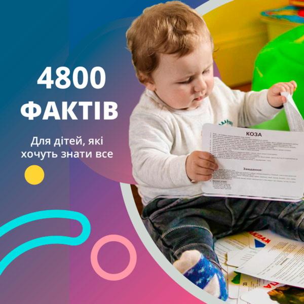 розвиваючі картки для немовлят